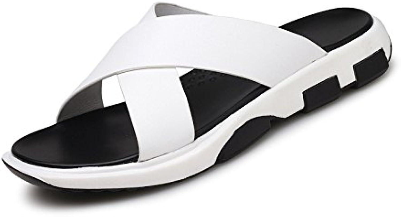 DHFUD Dick Soled Herren Sandalen Flip Flops Britischen Casual Mode Schuhe