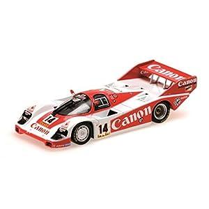 """Minichamps 155836614 """"1983 Porsche 956K Canon Racing 3er Lugar Nurburgring 1000Km Modelo Escala 1:18"""