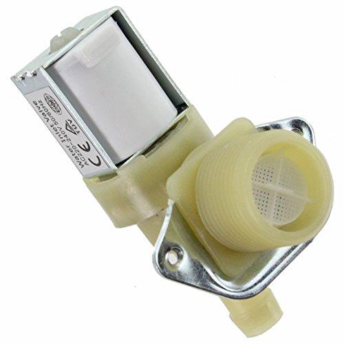 Spares2go, Électrovanne de remplissage d'eau électrique à simple entrée pour lave-vaisselle Bosch (3/10, 2 cm 14 mm 90°) Fitment List F