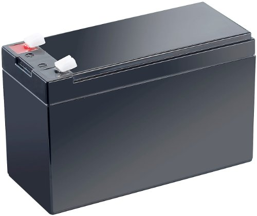revolt 12V Akku: Wartungsfreie Blei-Akku-Batterie mit 12 V, 7,2 Ah, Flachstecker 4,8 mm (12V Batterie)