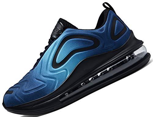 SINOES Hombre 91-219 Caña Baja Gimnasia Ligero Transpirable Casuales Sneakers de Exterior y Interior...