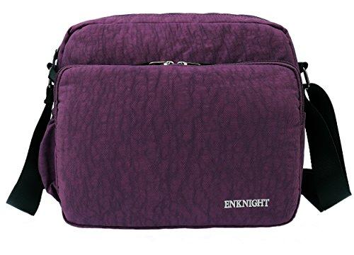 Unisex Unisex – Bambina Adulto Bambini Purple borsa ENKNIGHT Donna – Casual wq110t