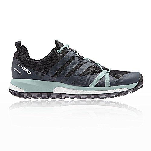 adidas Damen Traillaufschuh Terrex Agravic GTX, Grau (Carbon/Gritre/Vercen 000), 37 1/3 EU