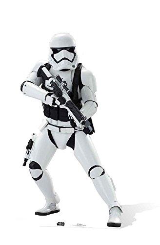 empireposter Star Wars EP7 Stormtrooper Krieg der Sterne Episode VII - Das Erwachen der Macht Pappaufsteller Pappfigur Standy ca. 172 - Vii Stormtrooper Kostüm