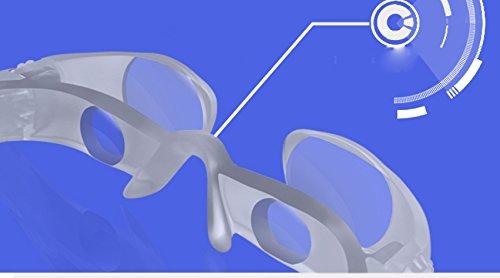 HZX Teleskop - Männer Professional High-Definition-Objektiv - Uhr schwimmende Sonnenbrille - Herren-Sonnenbrille Angeln Persönlichkeit polarisiert - Brillengläser,Lesebrille,Angeln