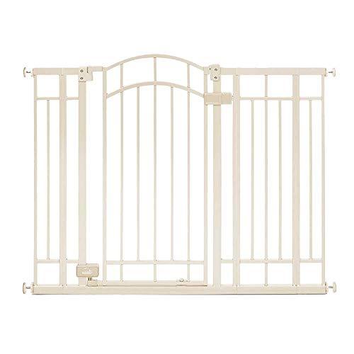Barrières MAHZONG Porte de sécurité pour bébé, Porte de rehaussement en métal pour Animal de Compagnie, Porte de Protection pour Enfants, Porte d'isolation pour bébé