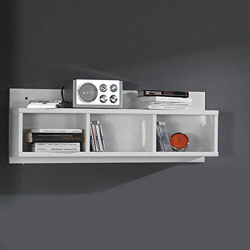 Jugendzimmer Wohnwand »SKATO221« grau-metallic, alpinweiß - 3