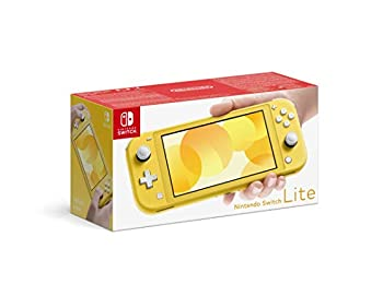 Nintendo Switch Lite Portable Gaming Console, European Edition, Yellow