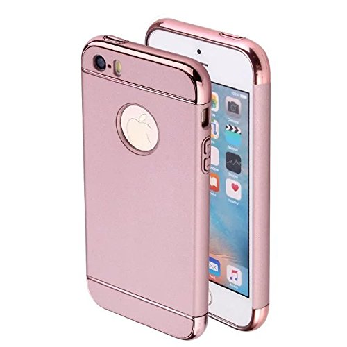iPhone 6 Coque de protection, iPhone 6s Motif Coque en TPU, CE iPhone 6S Coque Bling, iPhone 6 Coque en silicone, iPhone 6s 11,9 cm Paillettes Bling TPU souple pour iPhone 6, iPhone 6s Or Poudre Coque 3in1 Rose gold