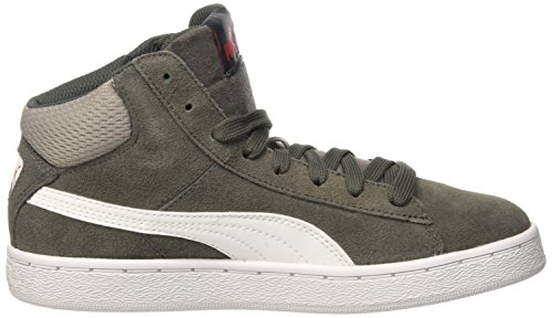 Puma 1948 Baskets Mode Mid Jr Dark Shadow/Bianco