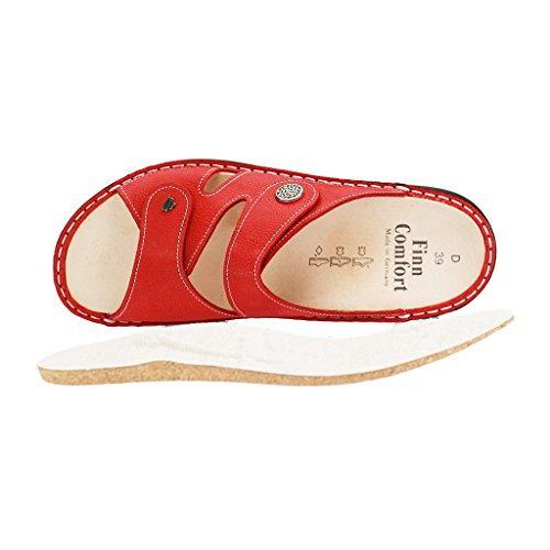 "Finn Comfort Mules ""Porte Bole 2571 Indianred Rouge - indianred"