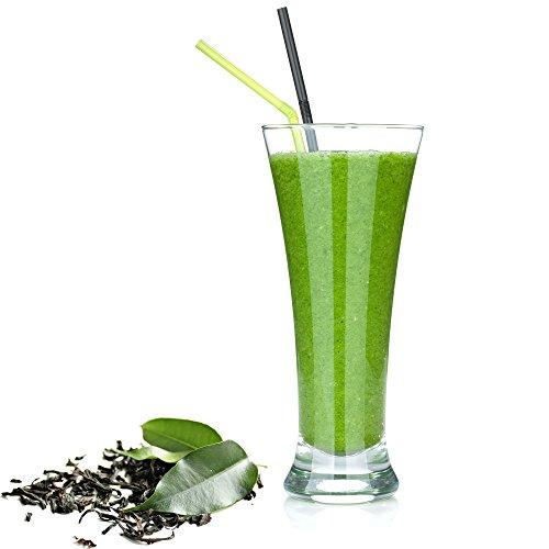 Grüner Tee Eiweißpulver Milch Proteinpulver Whey Protein Eiweiß L-Carnitin angereichert Eiweißkonzentrat für Proteinshakes Eiweißshakes Aspartamfrei (10 kg)