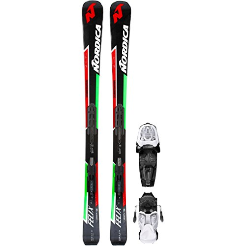 Nordica Kinder All-Mountain Ski schwarz 120