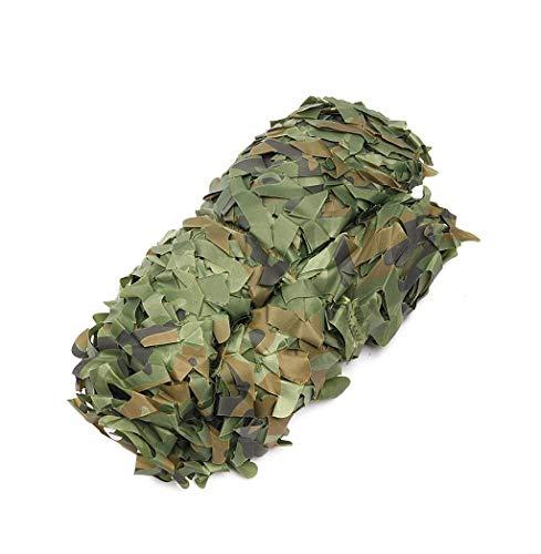 SJIAWZW Oxford Tuch Camouflage Net für Camping Versteckte Wald Jagd Camouflage Fotografie Spiel Halloween Weihnachtsdekoration (Farbe : E, größe : 4 * 5m)