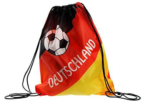Preis am Stiel 1 x Matchbeutel ''Deutschland'' | Fanartikel | Geschenk für Frauen | Fußball WM |...