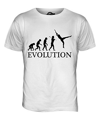 CandyMix Trapez Sport Evolution Des Menschen Herren T Shirt Weiß