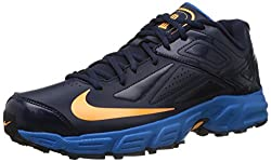 Nike Mens Potential Obsidian,Atomic Mango,Photo Blue Cricket Shoes -6 UK/India (40 EU)(7 US)