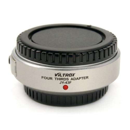 Viltrox anello adattatore per il collegamento di 4/3 (Four Thirds System) lenti su Micro 4/3 (Micro Four Thirds) Mount fotocamera come originale Olympus MMF-2 Adapter