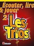Méthodes y pedagogía dehaske Ecouter, leer y jugar–Les Trios Vol.2–Trompeta sib, fliscorno, Barítono, Bombardino, saxhorno Trompeta