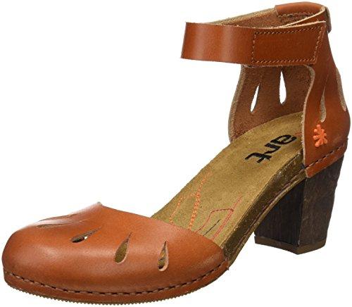 ART 0144 Mojave I Meet Sandali con cinturino alla caviglia Donna Marrone Bro