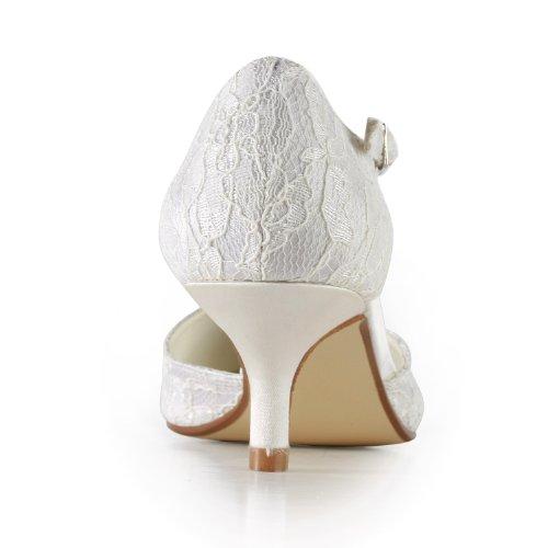 Minitoo , Sandales Compensées femme Blanc - blanc