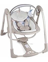QIAN Smart Baby eléctrica mecedora bebé cuna balancearse hacia atrás para dormir cama