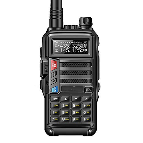 ZUZU UV-S9 High Power 8 Watt tragbares Walkie Talkie 10 km Lange Reichweite CB-Funk-Transceiver für Hunt Forest City Upgrade 5R,A (Cb-funk-power)