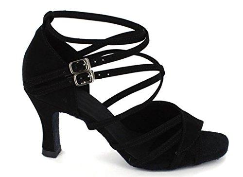 TDA - Ballroom donna Suede Black