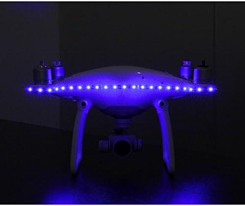 Junsi Junsi Junsi LED Strips Light Night Flying Vol de nuit Decorative Red Lamp Night Navigation Light Belt for DJI Phantom Fantome 4 | Matériaux De Haute Qualité  948bc6