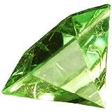 Deko - Diamanten. Größe ca 32 mm. 10 Stück. Farbe: GRÜN