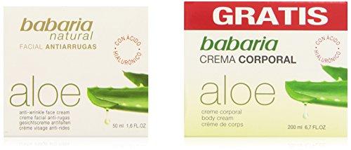 babaria Aloe Vera Anti-Aging Gesichtspflege 50 ml & Aloe Vera Körpercreme 200 ml