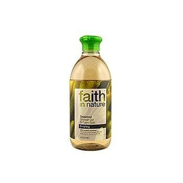 Faith in Nature Seaweed Foam Shower Gel 1