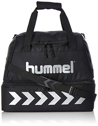 Hummel Authentic Soccer Bag Sporttasche Fußballtraining Unisex Black/Silver