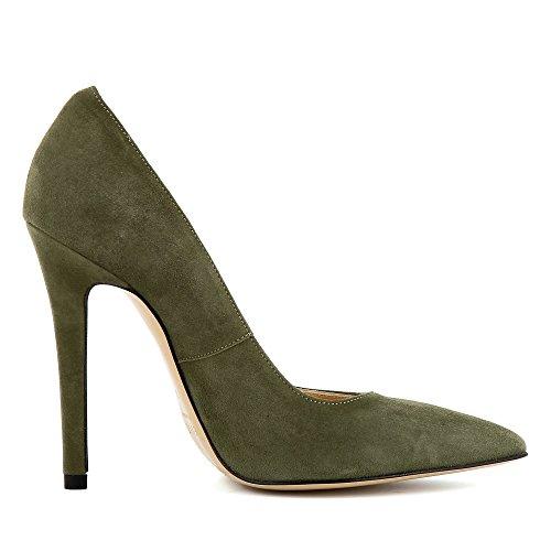 LISA daim Vert femme escarpins escarpins LISA pgwnqPxTp