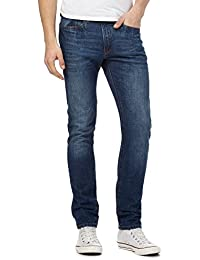 Red Herring Blue Mid Wash Slim Fit Jeans