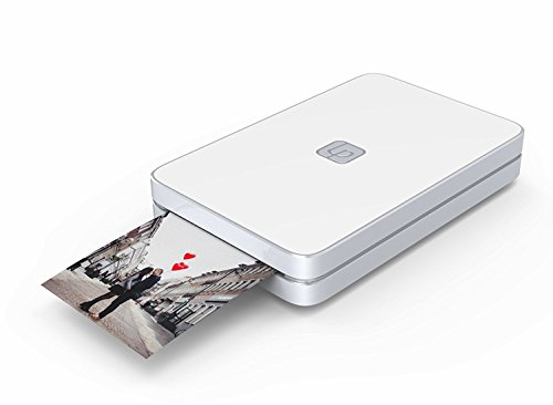 Imprimante Photo ET Vidéo Lifeprint. La Réalité Augmentée Donne Vie à Vos Photos. Photos en Format 5 x 7,6 cm sans Encre : Blanc