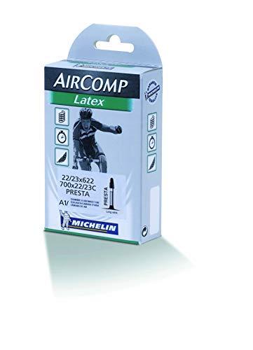 Michelin A1 Latex ETRTO 22/23-622 40 mm Fahrradschlauch, Presta 42, one size (Fahrrad Schlauch Latex)