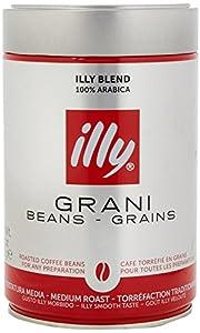 Illy Classic Roast Coffee Beans, Medium Roast, 250g
