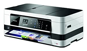 Brother MFC-J4410DW 4,5 cm (1,7 Zoll) All-in-one Multifunktionsgerät (Touchscreen, Scanner, Kopierer, Drucker, Fax, 6000x1200 dpi, USB 2.0) weiß