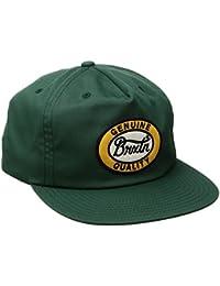 Brixton Merced Snapback Cap, unisex, MERCED Snapback, verde oscuro, talla única