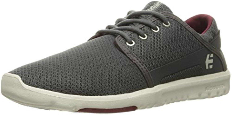 Etnies - Zapatillas de skateboarding para hombre gris gris, rojo y blanco  -
