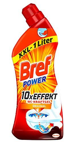 Bref Power WC-KraftGel, WC Reiniger, 2er Pack (2 x 1 Liter)