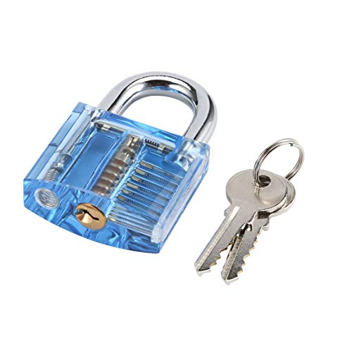 fghfhfgjdfj Hands-on Broken Key Extractor Visible Cutaway Practice Padlock  Locksmith Tool Transparent Lock Hooks Extractor