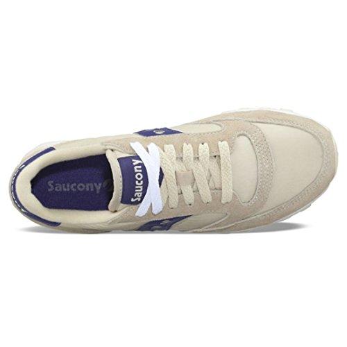 ZAPATOS SAUCONY JAZZ M. CREAM/PURP T06 Cream/Purple