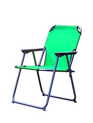 Garten Camping Sessel Oxford 57x54x75cm mit Metallrahmen - Petrol