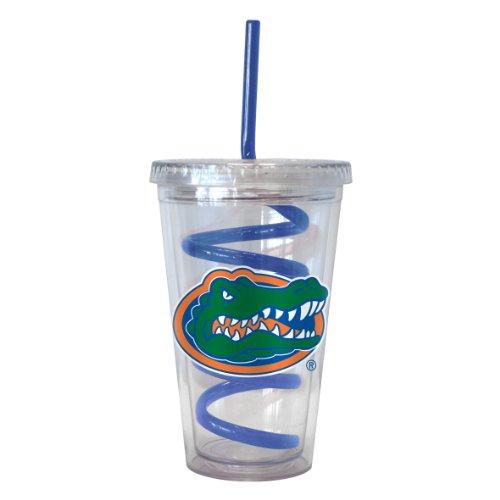 Boelter Brands NCAA Florida Gators Tumbler mit Swirl Stroh, 473ml -