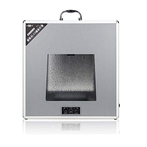 Light Boxes Gona Portable Photo Studio -32 × 32 × 10Cm Foto-Box-Lichtzelt-Beleuchtungsset Mit 5600K LED-Beleuchtung Faltbarer Würfel Professionelle Fotografie-Box Portable Photo Studio Cube