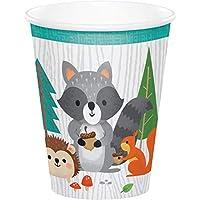 Party Bags 2 Go Creative Converting 343967 9 oz Paper Mug, Multi-Colour