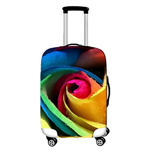 YiiJee Kofferhülle Kofferschutzhülle Luggage Cover Gepäck Cover Kofferbezug Reisekoffer Hülle Kofferschutz Als Bild6 M