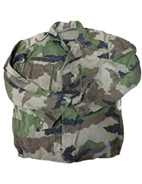 Señoras Francesas camuflaje F2combate chaqueta, último Stock, verde